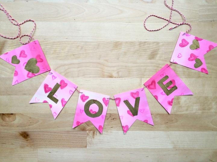 LOVE Banner DIY