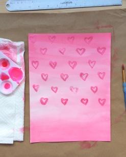 iridescent hearts