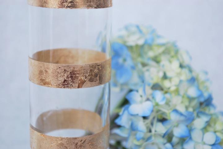 Gold Leaf Vase