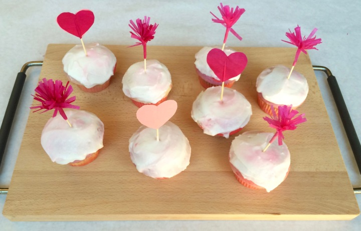 V-Day Cupcake Toppers