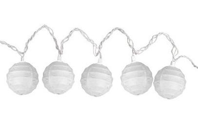 Paper Globe Lights