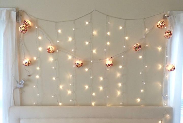 Glittery Globe Lights