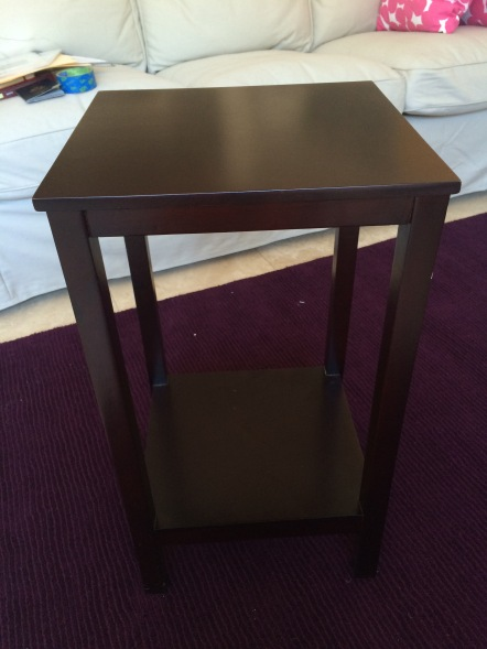 *side table-before