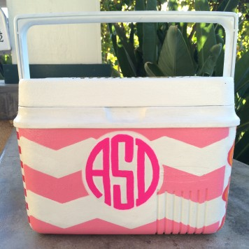 Monogram, front and center