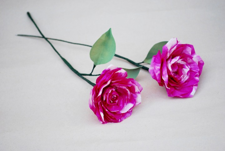 Paper Flowers: Roses
